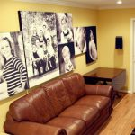 AcoustiArt in a Family Room