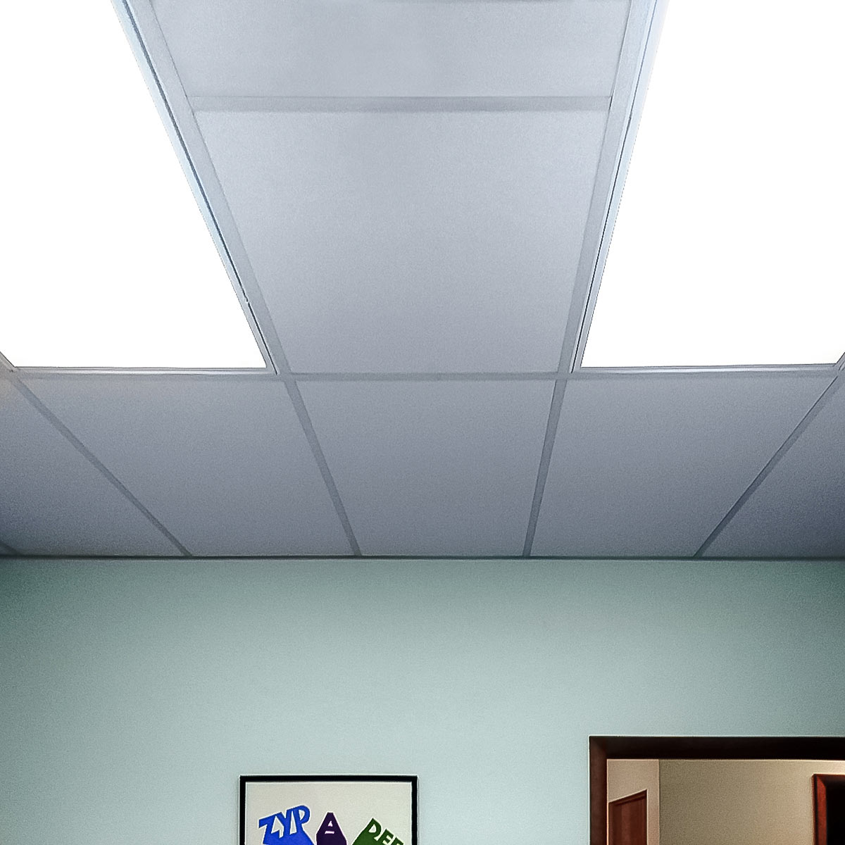over project ceilings embroidered for ceiling area room elac img light acoustic meeting tiles designboom com
