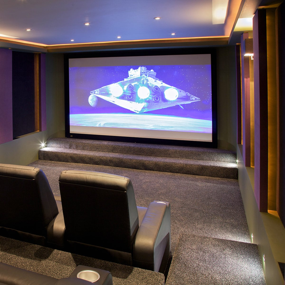 Home Entertainment Spaces: Cedia Honored Home Theater