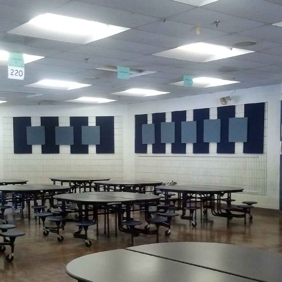 Farragut Elementary School Cafeteria · EcoSorpt® Cotton Acoustic Panel ...