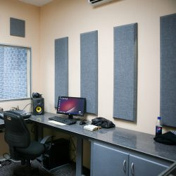 Honduras Radio Station Production Room