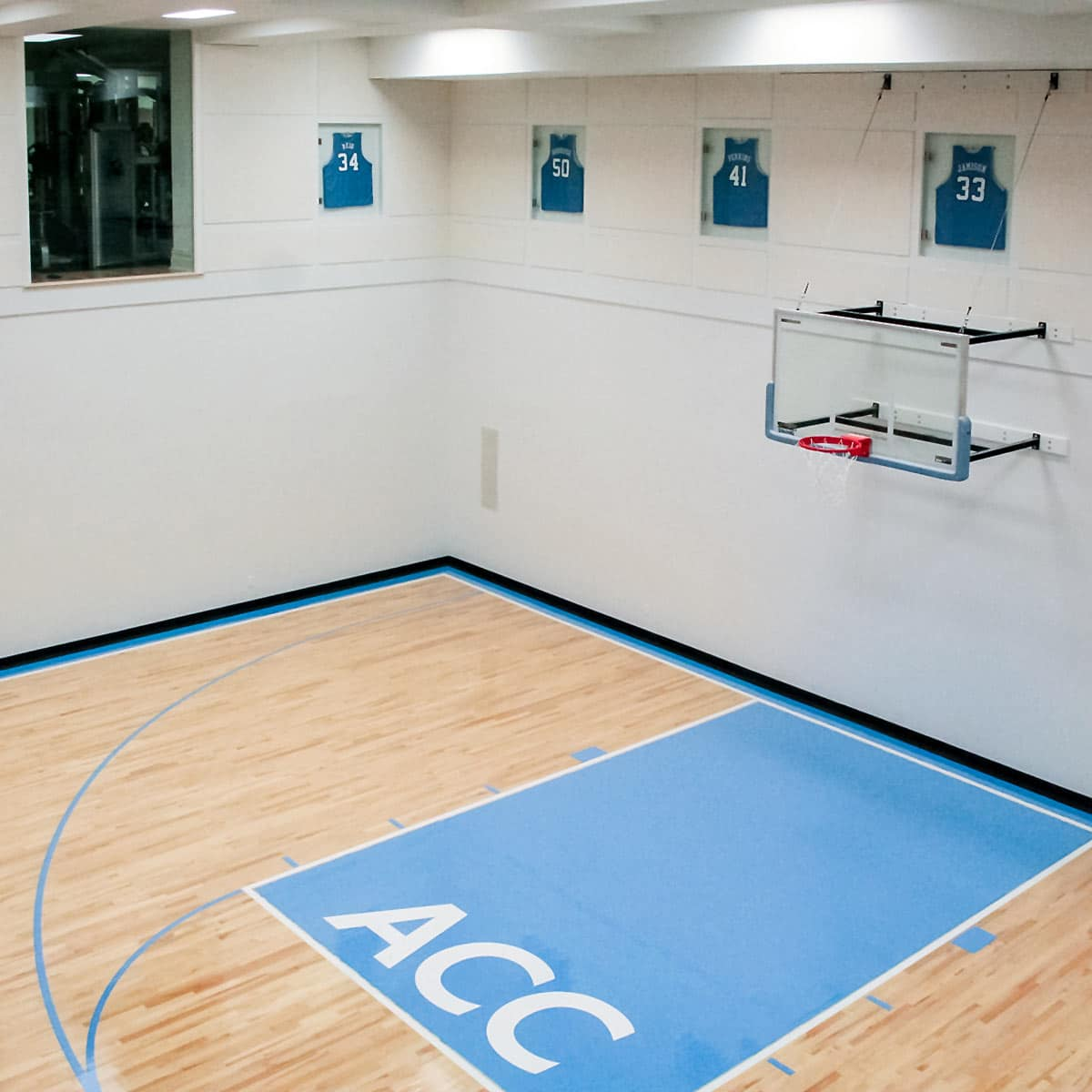 NFL Retiree\'s Basketball Court | Acoustical Solutions