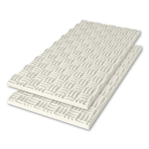 Sonex® Classic Acoustic Foam - Arctic White (HPC Coated. Shown with optional edging coating applied.)