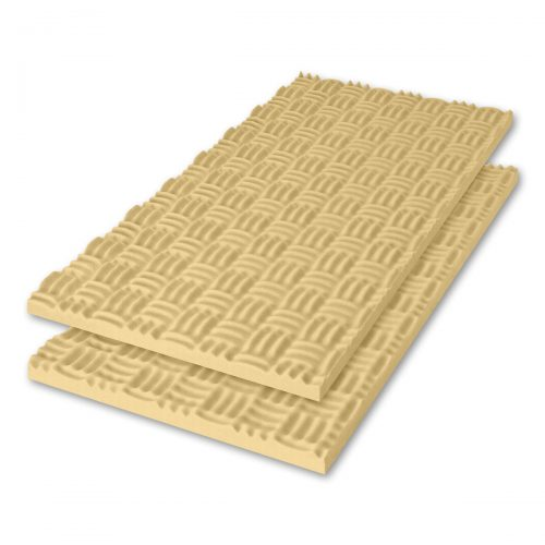 Sonex® Classic Acoustic Foam - Beige (HPC Coated. Shown with optional edging coating applied.)