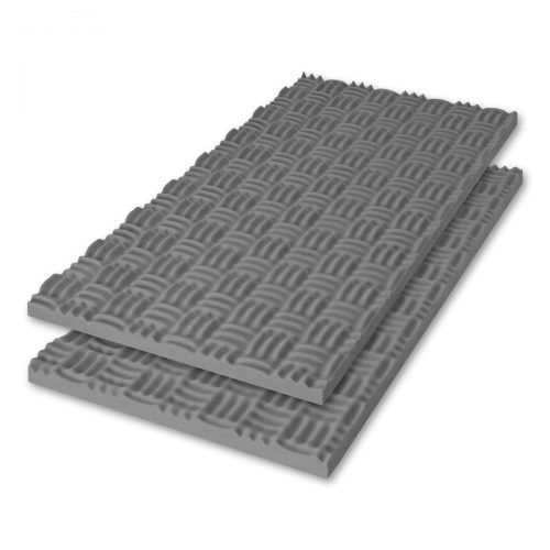 Sonex® Classic Acoustic Foam - Medium Grey (HPC Coated. Shown with optional edging coating applied.)