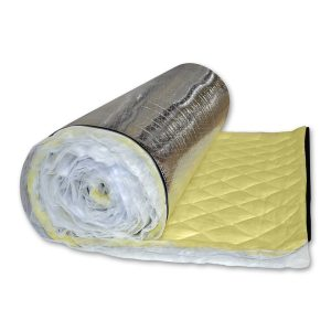 AudioSeal® Duct and Pipe Wrap - Mass Loaded Vinyl Barrier with a Fiberglass Decoupler