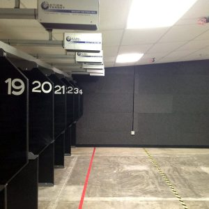 Eagle Gun Range used Polysorpt® Acoustic Panels for their indoor gun range.