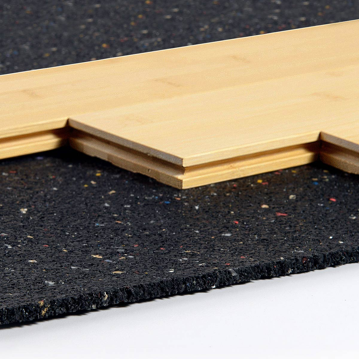 Iso step floor underlayment acoustical solutions for Wood floor underlayment