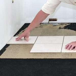 Iso-Step® Floor Underlayment -Lay finish floor layer according to flooring manufacturer's guidelines.
