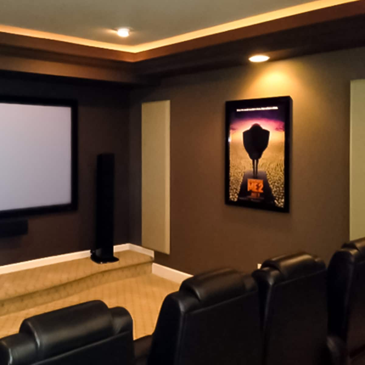 Home Entertainment Spaces: Jeff B.'s Home Theater