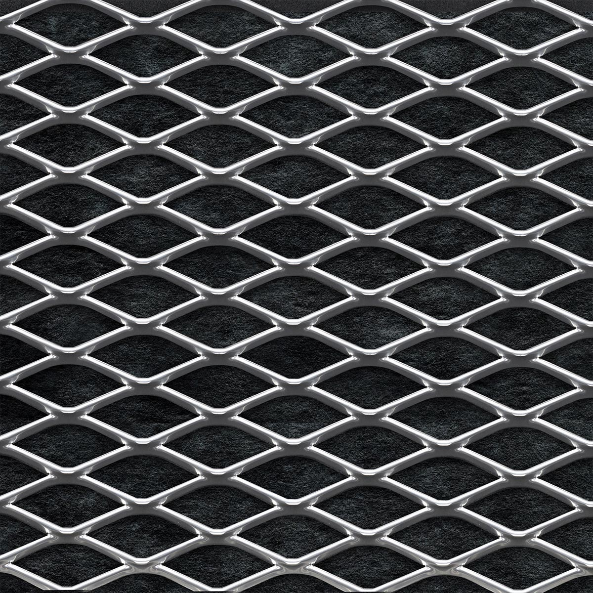 Sonex squareline acoustic ceiling tile acoustical solutions sonex squareline acoustic ceiling tile chrome shown on black background dailygadgetfo Images