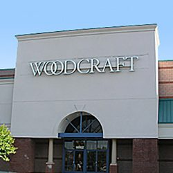 Woodcraft Retail Store Using PVC Wrapped AlphaEnviro Wall Panels