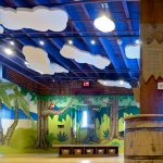 Amazement Square Children's Museum - Whisperwave Ceiling Cloud Installation (Shape cut on site by installer)