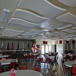 Grand Horizons Community Center Whisperwave® Ceiling Clouds