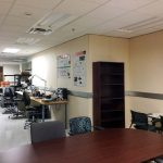 UT Dallas Lab utilizing the sound absorbing Studio 54 acoustical panels for the lab room.