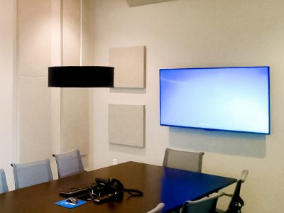 Family Trust Federal Credit Union installed a Pro Room kit to improve the acoustics in their conference room.