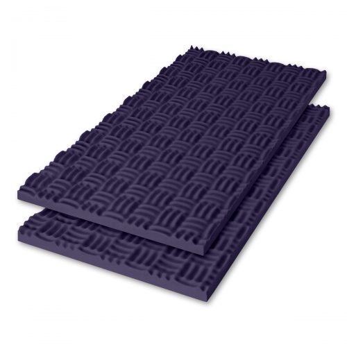 Sonex® Classic Acoustic Foam - Blue Violet (Premium HPC Coated. Shown with optional edging coating applied.)