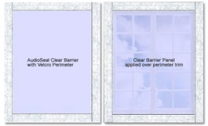 AudioSeal® Clear Barrier Window Panel