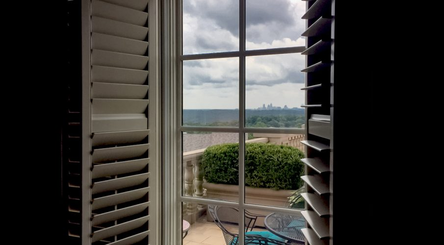 The Moorer Residence installed PrivacyShield® Window Seal Kits to reduce the intrusion of outdoor noise from the commons area into their condominium.