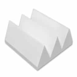 "AlphaSorb® Max Wedge Foam 6"" in Natural White"