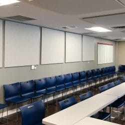 The Dallas 24 Hour Club installed a series of AlphaSorb® Acoustic Panels to improve the sound quality of their meeting space.
