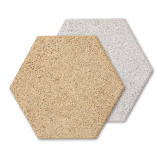 AlphaSorb® Wood Fiber Acoustic Panel (Hexagonal)
