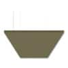 "SoundSuede™ Ceiling Cloud 2'x4'x1"" in Olive"
