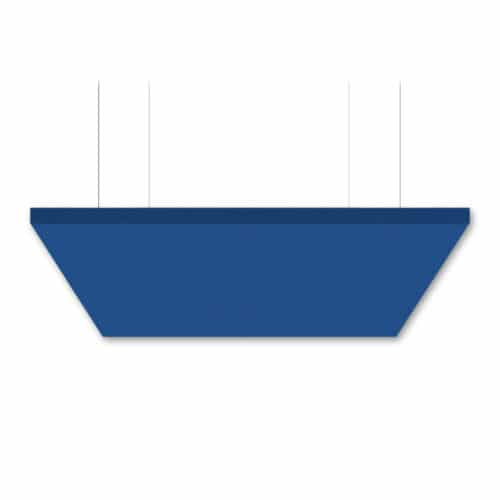"SoundSuede™ Ceiling Cloud 4'x4'x2"" in Cobalt"