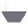 "SoundSuede™ Ceiling Cloud 4'x8'x2"" in Pewter"