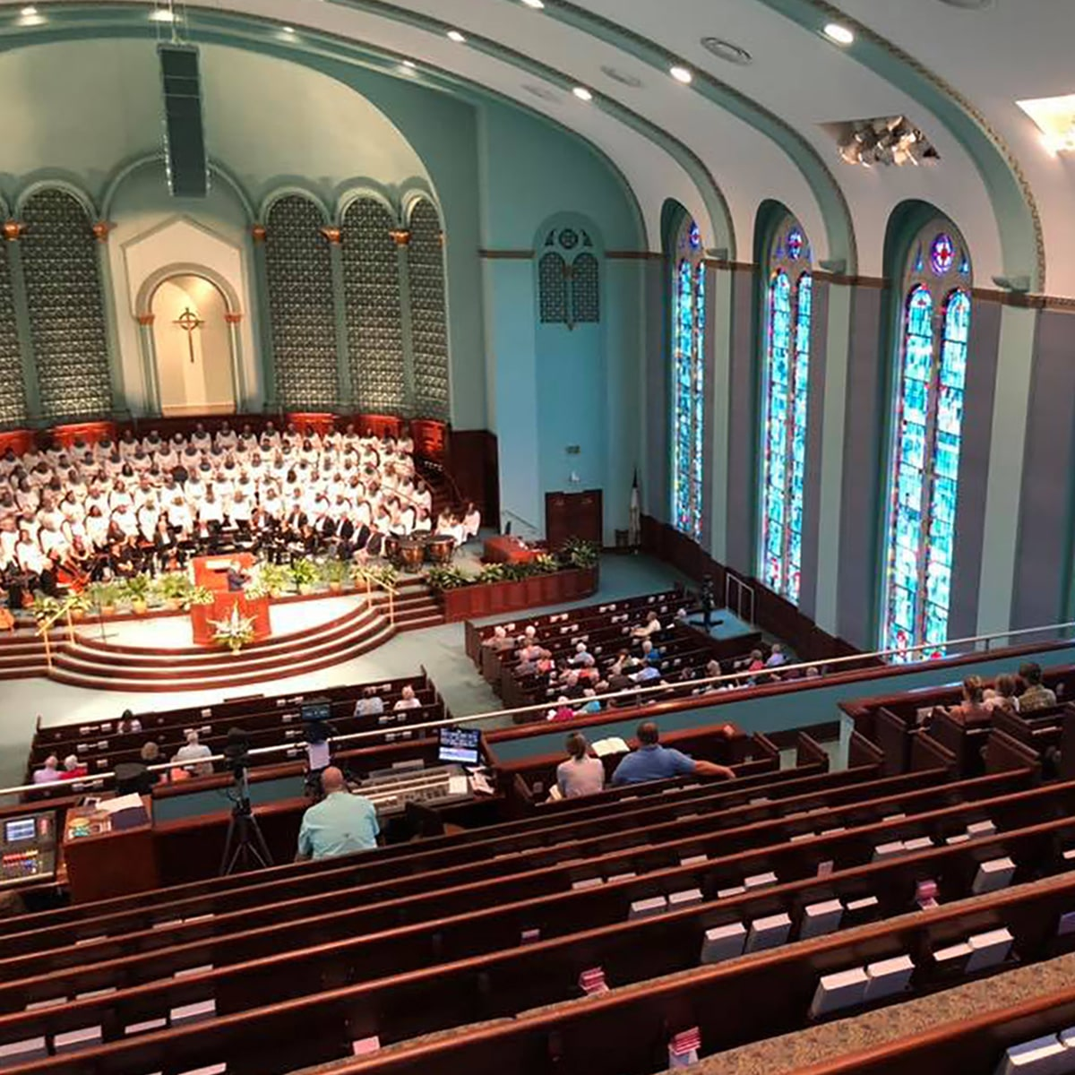 First Baptist Church Of Pensacola Acoustical Solutions