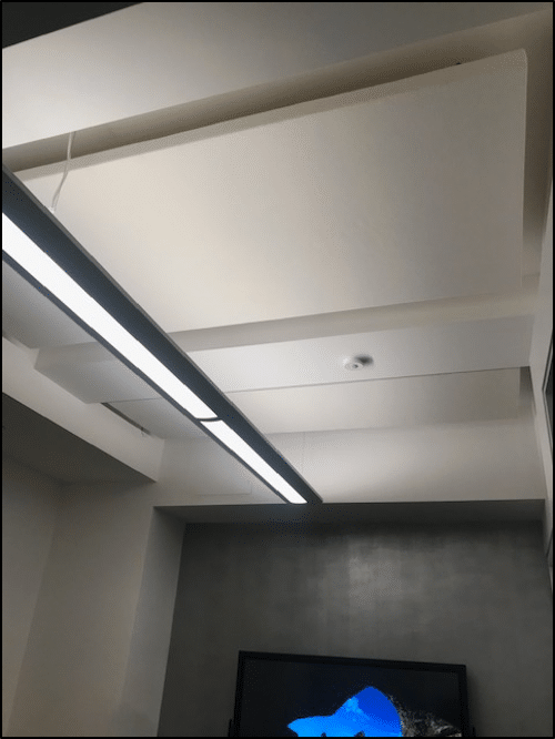 ceiling treatment sound absorption resourcepro