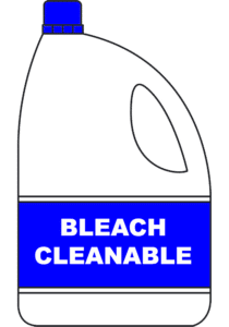 10 Percent Bleach Cleanable Solution Icon